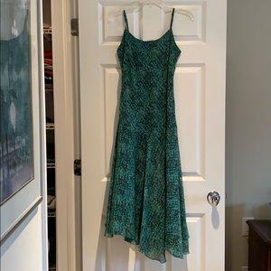 Flowy spaghetti strap dress